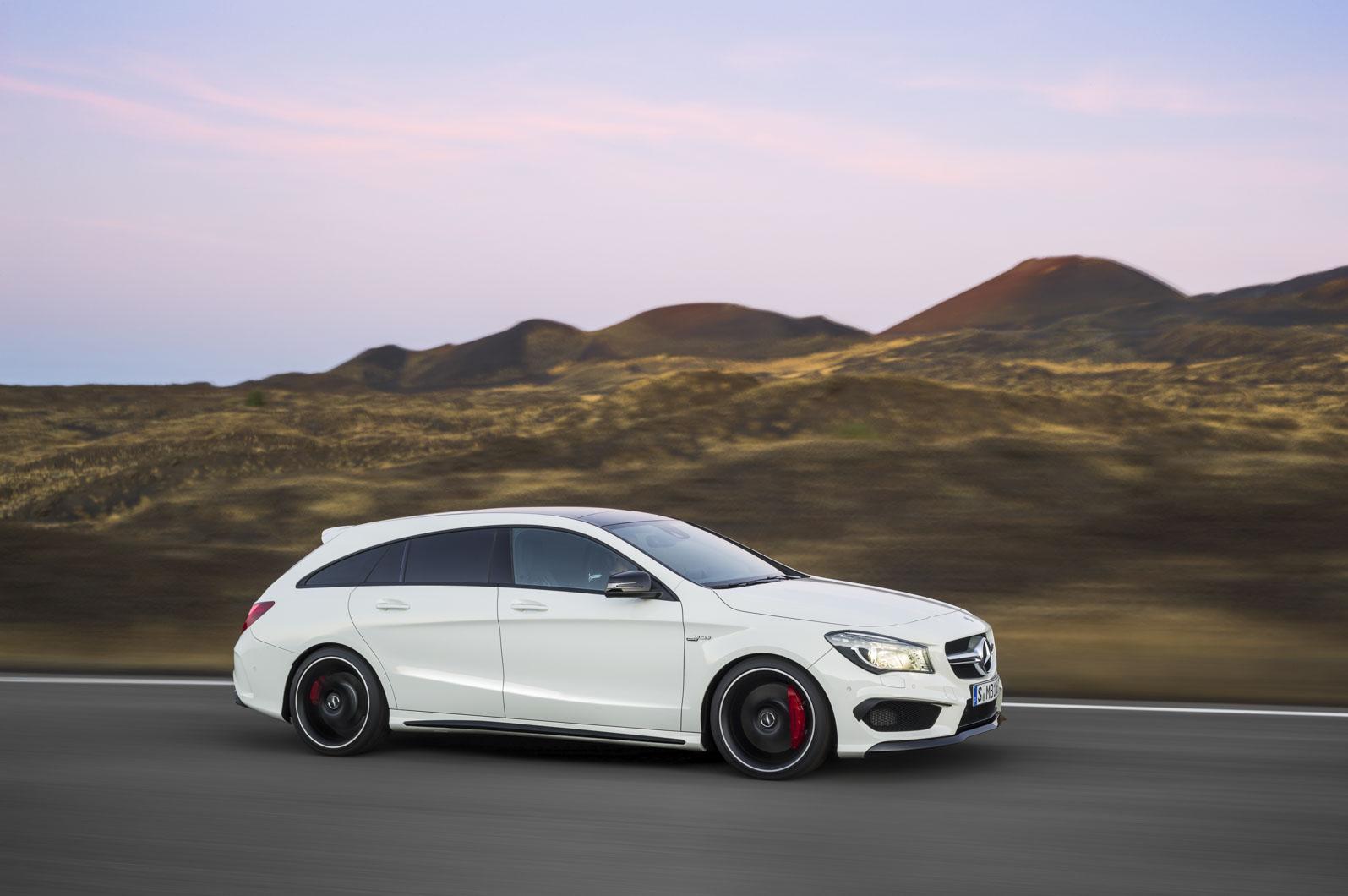 The New Mercedes Benz CLA 45 AMG Shooting Breake Avant Garde Meets
