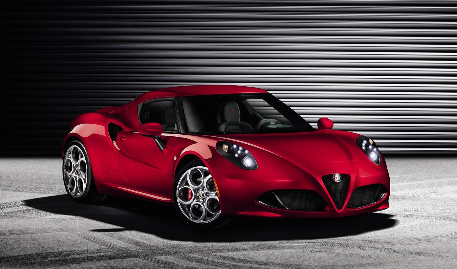 World Premire Alfa Romeo 4c Extra Transmission
