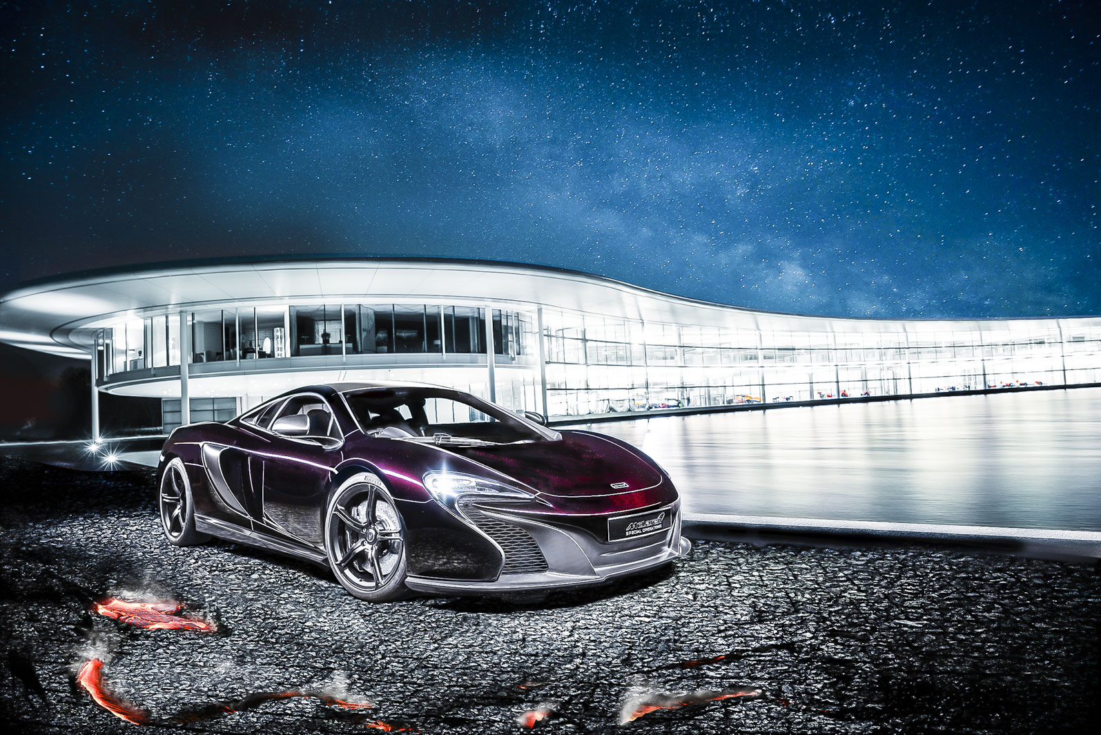 McLaren special operations showcaces MSO 650S coupe concept in China ...