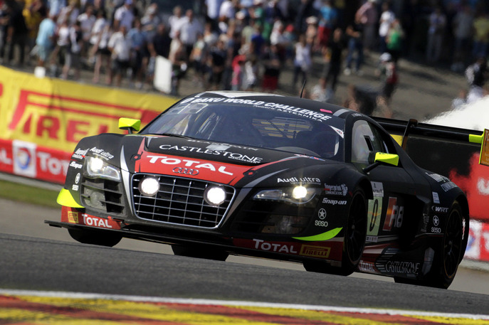 Htp mercedes outmuscles manthey porsche in the 24 hours of for Garage mercedes corse