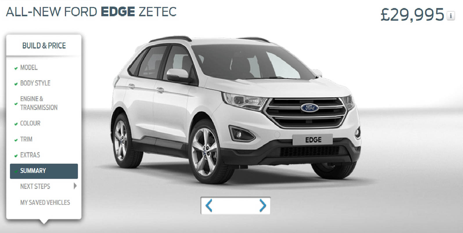 Ford Edge Is Now Available On The Www Ford