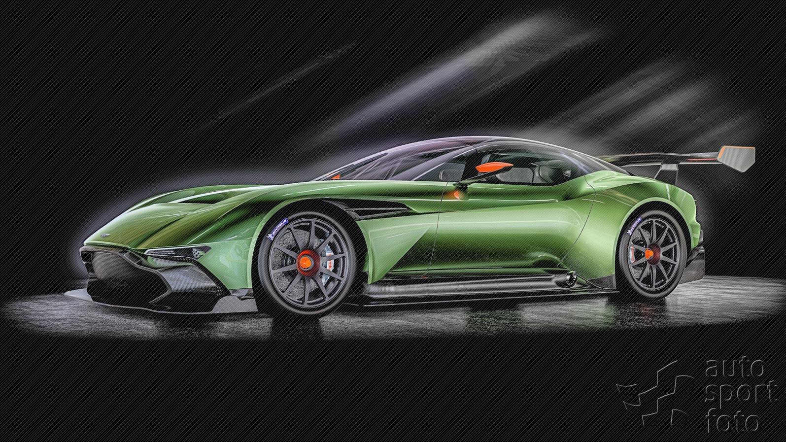 Aston Martin Vulcan Prepares For Take Off Predstavujeme