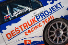 Deštrukprojekt Racing team test