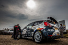 L Racing test pred Eger Rally