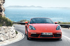 New engines Porsche 718 Boxster