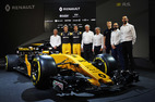 Renault F1 launch 2017